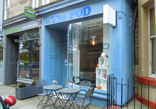 The Pod Cafe, Bruntsfield Edinburgh