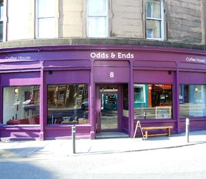 Odds and Ends Coffee House, Edinburgh